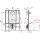 Инсталляция для унитаза Alcaplast Sadromodul AM101/1300H для людейс огр. возм.