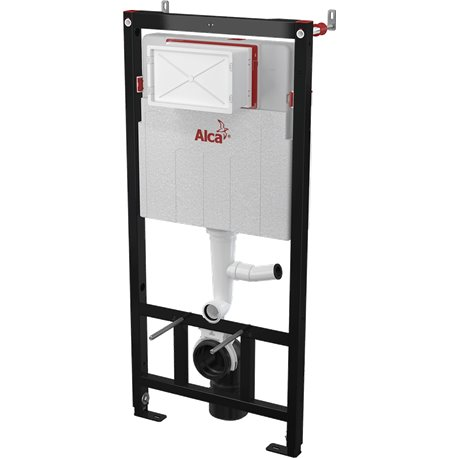 Инсталляция для унитаза Alcaplast Sadromodul AM101/1200V с вентеляцией