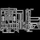 Инсталляция для унитаза Alcaplast Solomodul AM116/1300H