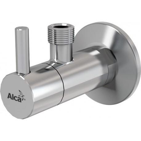 Вентиль угловой с фильтром Alcaplast ARV001 круглый