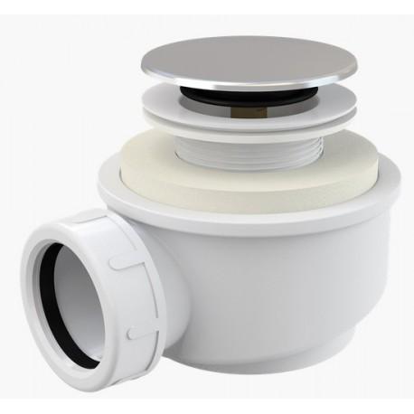 Сифон для душевого поддонa Alcaplast A476 Click-Clack низкий, диаметр 50