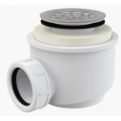 Сифон для душевого поддона Alcaplast A46 диаметр 50 с нержавеющей peшeткой