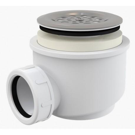 Сифон для душевого поддона Alcaplast A46 диаметр 60 с нержавеющей peшeткой