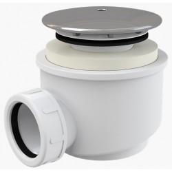 Сифон для душевого поддона Alcaplast A47CR диаметр 60 хром