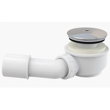 Сифон для душевого поддона низкий Alcaplast A471CR диаметр 60 хром
