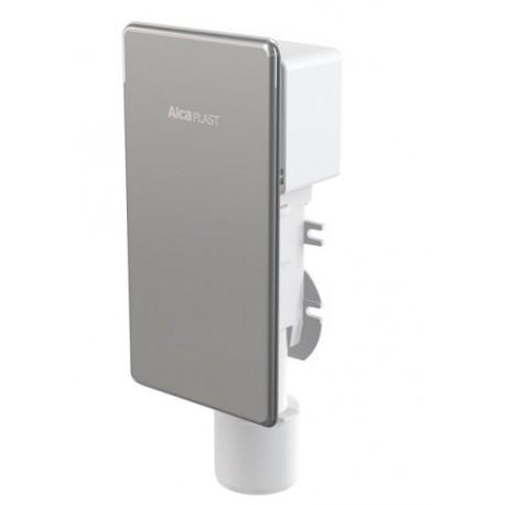 Сифон для сбора конденсата под штукатурку Alcaplast AKS4, нержавеющая сталь