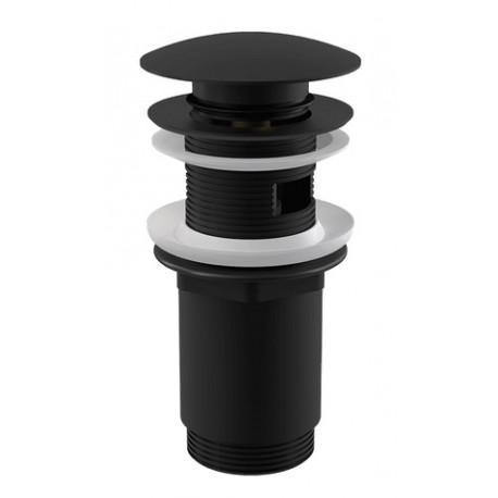 Донный клапан для раковины Alcaplast A392BLACK CLICK-CLAK