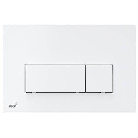 Кнопка смыва Alcaplast М570 цвет белый