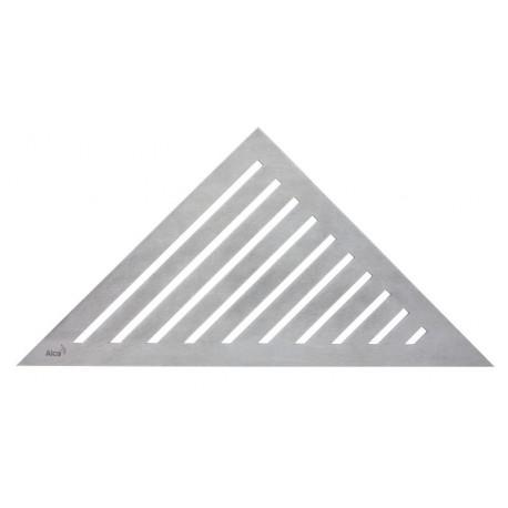 Решетка для углового желоба Alcaplast GRACE