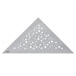 Решетка для углового желоба Alcaplast VIEW