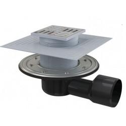 Сливной трап Alcaplast APV3344 105x105/50/75 выпуск боковой, гидрозатвор + сухой