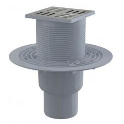 Сливной трап Alcaplast APV2311 105x105/50/75 выпуск прямой, гидрозатвор